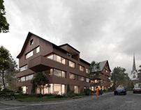 Apartment buildingin Switzerland