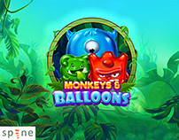 Monkeys & Balloons | Game Animation Pack