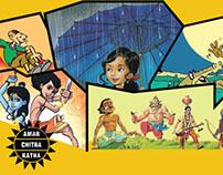 Campaign design for Amar Chitra Katha