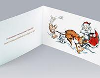 Новогодняя открытка для Mastercard
