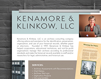 Kenamore & Klinkow Poster & Brochure