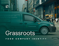 Grassroots - branding for unique food demo company