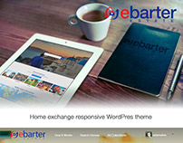 EbarterEstate: Home exchange responsive WordPress theme