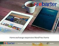 EbarterEstate: Home exchange responsive WordPress theme