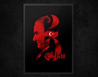 Atatürk / 29 Ekim Cumhuriyet Bayramı Poster Tasarımı