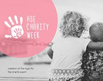 """HSE Charity Week"" logo"