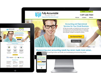 Fully Accountable Responsive Website and Print Design