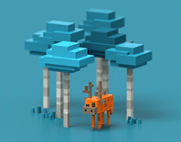Blocky Forest