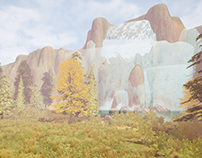 Forest _ UE4 Game Level Design