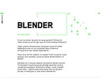 Blender - Monthly Digital Newsletter
