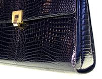 Mark Cross handbag product shots