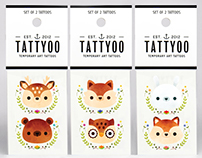 Tattyoo | Temporary Art Tattoos