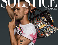 Front cover editorial - Solstice Magazine Singapore