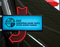 EAT – Brand strategy, visual identity, communication