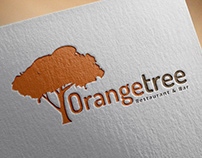 Logo OrangeTree / Restaurant&Bar | Por Sebastian Marín®