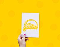 "Stencil ""YALTA"""