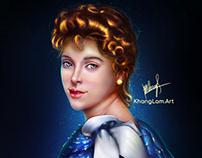 Cinderella 's portrait