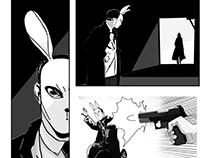 Rabbit & Alice Comic
