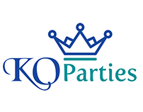 KO Parties Logo design