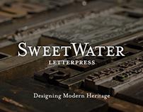 SweetWater Letterpress Branding
