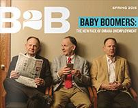 B2B Omaha • Magazine Cover Concepts/Designs