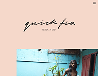 Quickfix Retouch Website