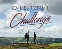 2017 DAILIES TOTAL1® Challenge Social Campaign