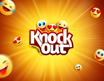 Knockout chips social media Advertisements