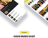 Music UI KIT with android code
