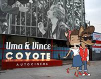 Vince & Uma Coyote