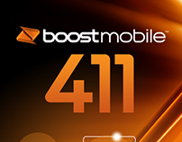 Boost Mobile 411 App Design