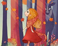 Four seasons girls - Autumn