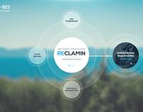 Reclamin Material Homepage