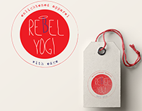 yoga merchandise | logo design
