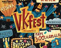 VK fest 2018 poster