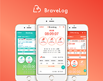 Bravelog Mobile web Design