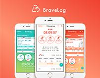 Bravelog Mobile web Design
