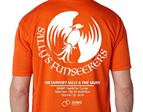 Sally's Funseekers Team Shirts