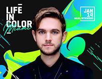 LIC Miami 2018 Artist Spotlight Design