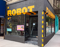 Sign Painting for Brooklyn Robot Foundry (NYC)