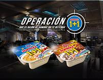 Campaña Digital Operación 1+1 intervenciones al website
