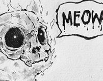 """""""Bernie"""" the cat"""