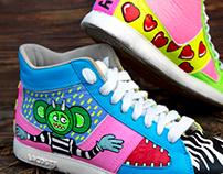 Custom kicks #feelslikespring