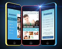Massoo - Massage Therapist On-Demand iOS MVP App Design