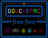 DOUCHEPAC (Free Font)