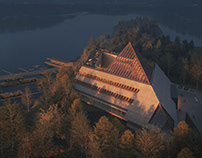 Log-Drivin Museum - Architectural Visualization