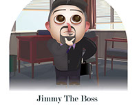 Jimmy the Boss Animation designs_Noodle Factory
