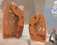 Trofeo Dakar 2018 - Diseño Industrial III Blanco 2017