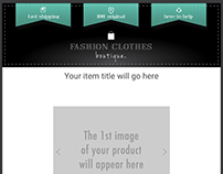FCB - Clothing Products - CrazyLister eBay Template
