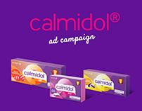 Calmidol ad campaign